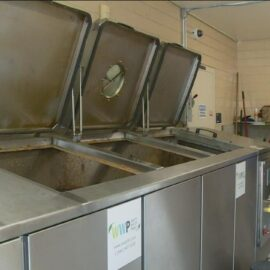 North Park School for Innovation turning waste into fuel and fertilizer for its campus